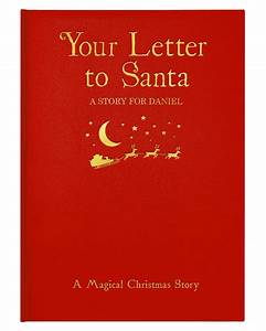 personalised your letter to santa book by letteroom With your letter to santa book