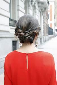 Recogido bajo: peinado 10 para invitada de boda El blog de Cheska por Maria Baras