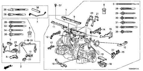 2012 Honda Civic Transmission Wire Diagram by Oem 2012 Honda Civic Coupe Engine Wire Harness 2 4l