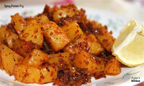 potato revipes spicy potato fry recipe