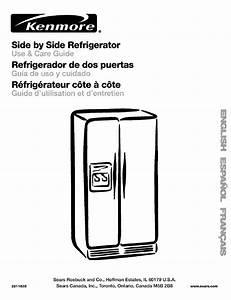 Kenmore Coldspot 106 User Manual