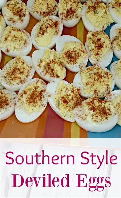 Well, easter dinner is certainly the best time to finally throw open the curtains and throw back the heavy covers of winter to bring in some fresh, spring color, fragrant flowers and a few favorite recipes to the table. Southern Style Deviled Eggs Recipe: Perfect Easter Side Dish | Easter side dishes, Devilled eggs ...