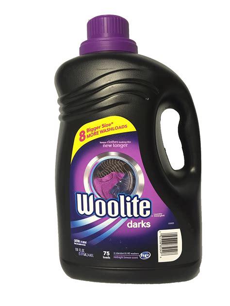 Woolite Darks Laundry Detergent, 150oz, 75 Loads Ebay