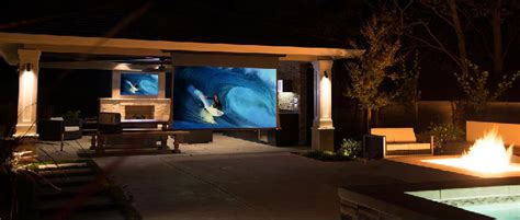 Outdoor Entertainment  Valley Home Theater & Automation
