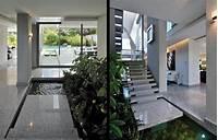 indoor water garden house plans Homes with Indoor Ponds