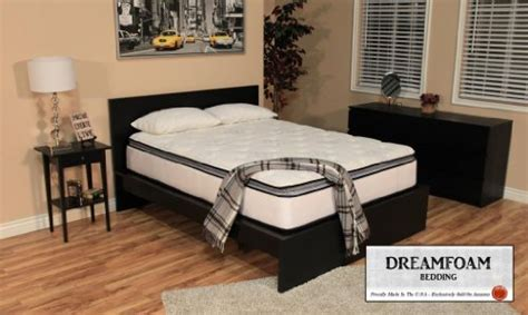 dreamfoam bedding ultimate dreams pocketed coil ultra