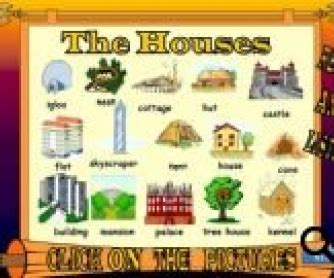 types  houses powerpoint