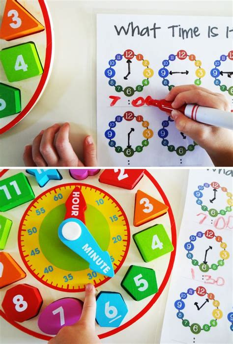 53 best images about best toys for 5 7 year olds on 751 | 0db14f0d40c17c3cfc2a0c8f5d1403a7 learning clock kids learning