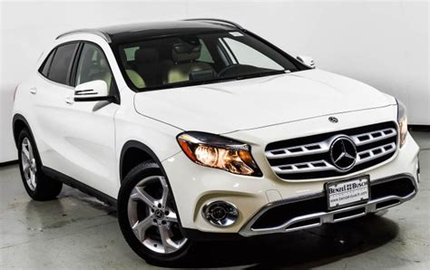 See its design, performance and technology features, as well as models, pricing, photos and more. 2018 Mercedes-Benz GLA 250 4MATIC SUV | Cirrus White U15430