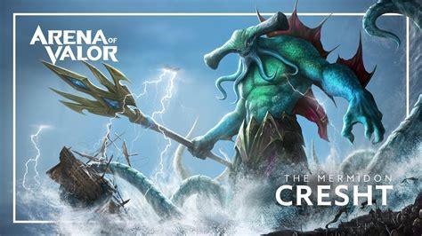 cresht hero spotlight gameplay arena  valor youtube