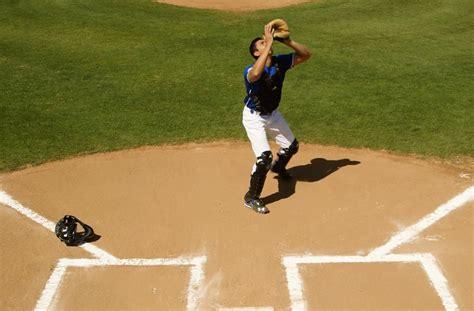 baseball catcher tips   catch  pop  pro tips