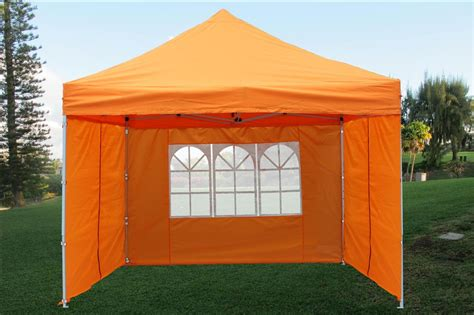 pop  canopy party tent gazebo ez orange  model ebay