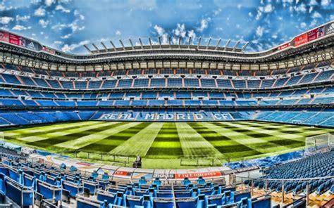 Santiago Bernabeu Stadium, Madrid, Spain, Real Madrid ...