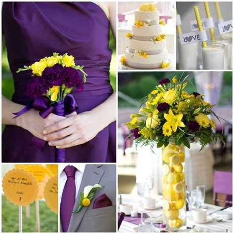 wedding decoration purple and yellow yellow and purple weddings purple and yellow inspiration board wedding ideas wedding ideas