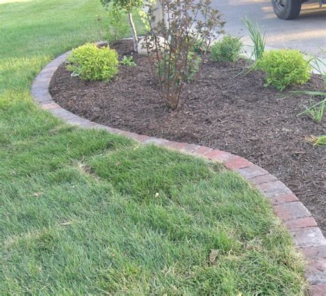 lawn edging options landscape edging plymouth mn and delano minnesota
