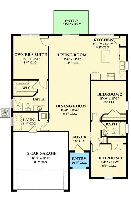 plan 82051ka secluded owner 39 s suite