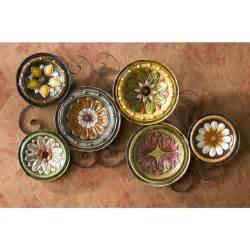 Decorative Wall Plates by Southern Enterprises Inc Italian Plates Wall Art