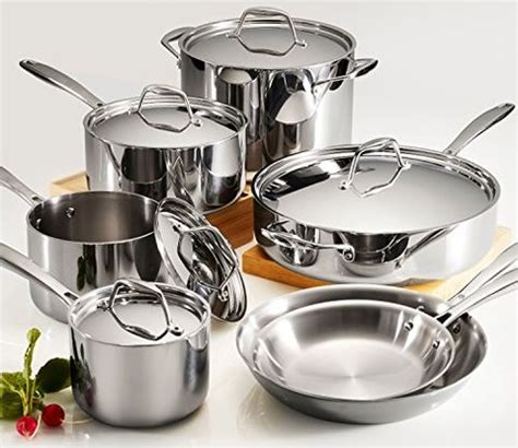 cookware steel stainless sets