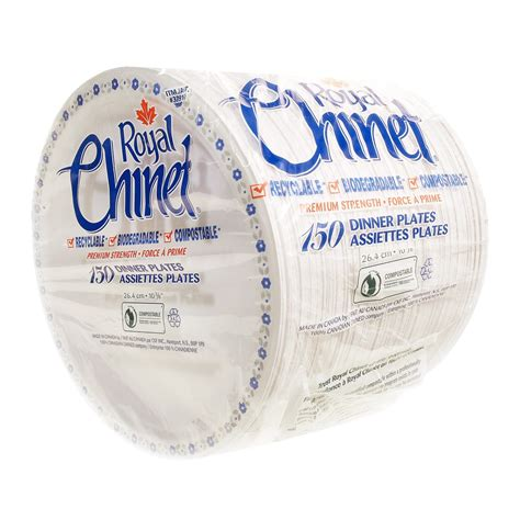 plates costco dinner chinet royal pack cornershop cutlery canada