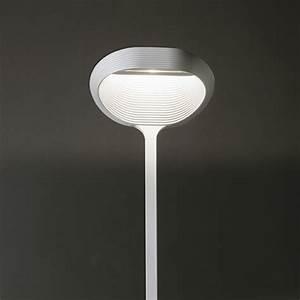 cininils sestessa terra led floor lamp with dimmer With white floor lamp with dimmer