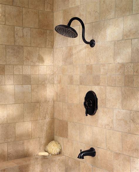 pfister hanover  handle tub shower faucet tuscan
