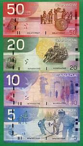 2004 2005 2006 Canada 5 10 20 50 Dollar Bill Canadian ...