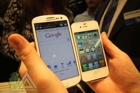 what s better galaxy or iphone samsung galaxy s3 vs iphone 4s no contest here folks