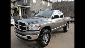 2007 Dodge Ram 2500 4x4 Slt Lifted On 37 U0026 39 S Elite Auto