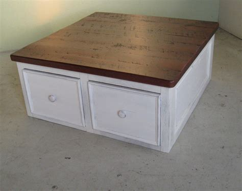 square coffee table with drawers square coffee table with large drawers lake and mountain