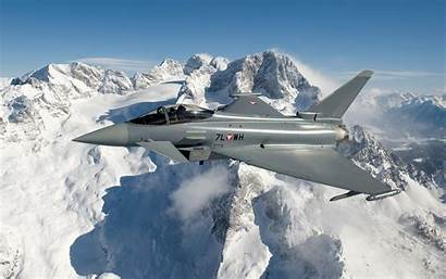 Force Austrian Fighter Aircraft Typhoon Military Combat