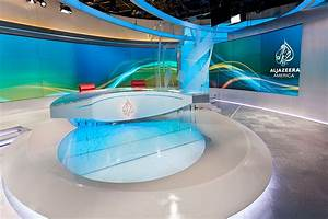 Al Jazeera America Broadcast Set Design Gallery