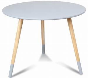 Table Basse Gigogne Scandinave : table basse scandinave grise vick 60 ~ Voncanada.com Idées de Décoration