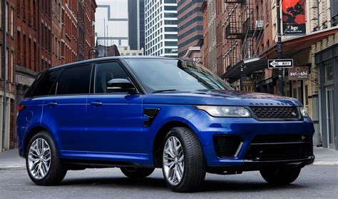 Land Rover Range Rover Sport Photo by Range Rover Sport Svr Toned In All Terrain Autocarweek