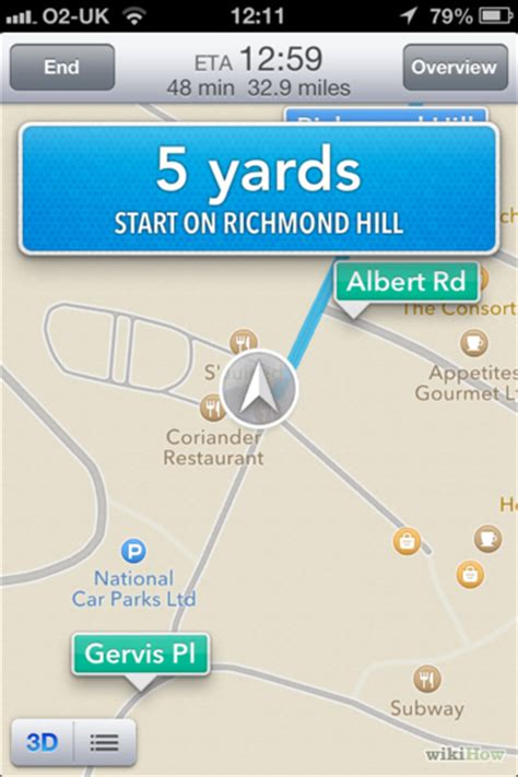 how to turn navigation on iphone how to use turn by turn navigation on an iphone or 6