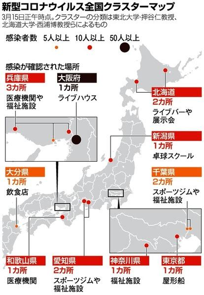 コロナ 感染 者 数 マップ