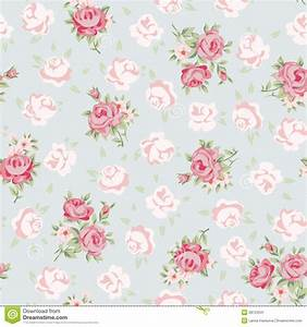 rose pattern stock image image of delicate modern With markise balkon mit tapete vintage chic