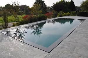 piscine miroir piscines bertrand With piscine miroir a debordement