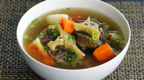 oxtail soup how to make indonesian oxtail soup cara membuat sup buntut youtube