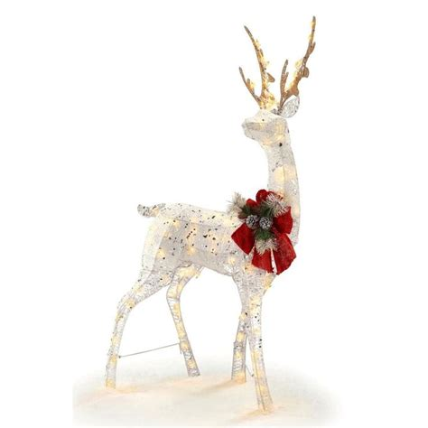 outdoor reindeer decorations 17 best images about on cotton