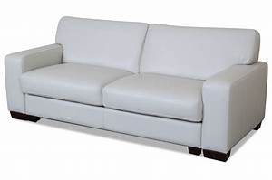 Sofa Mit Schlaffunktion Leder : leder 3er sofa mit schlaffunktion weiss sofas zum ~ Bigdaddyawards.com Haus und Dekorationen