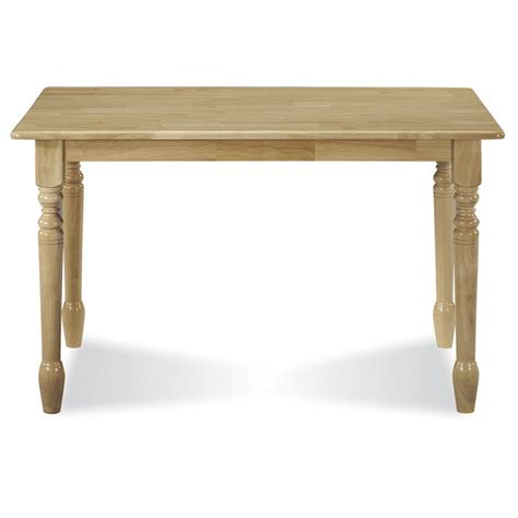 internationa concepts    solid wood top table