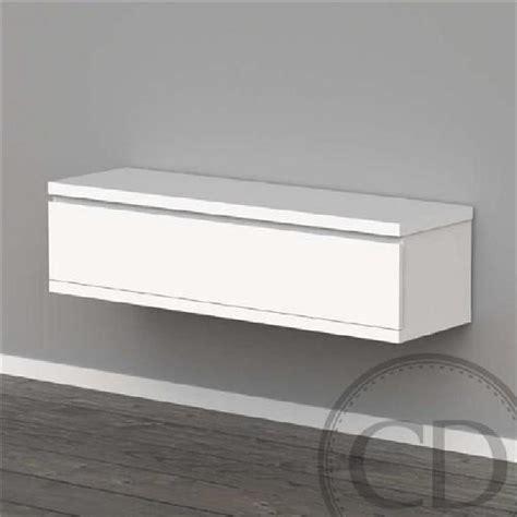 petit meuble tv blanc laque pas cher