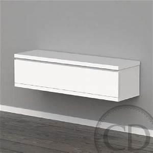 Tv 120 Cm : meuble tv suspendu 120 cm meuble d appoint trendsetter ~ Teatrodelosmanantiales.com Idées de Décoration