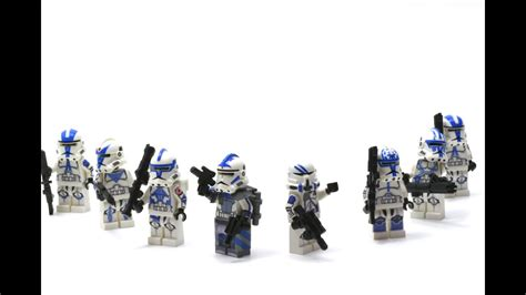 lego star wars st clone troopers custom highlight youtube