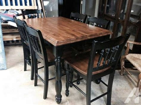 Pub Chairs For Sale by Pub Table With 6 Chairs For Sale In Wichita Kansas