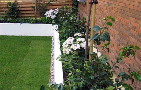 London Garden Fencing by Contemporary Garden Design London Architectural Garden