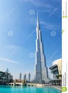 Torre De Burj Khalifa (Dubai) Dubai UAE Imagenes de
