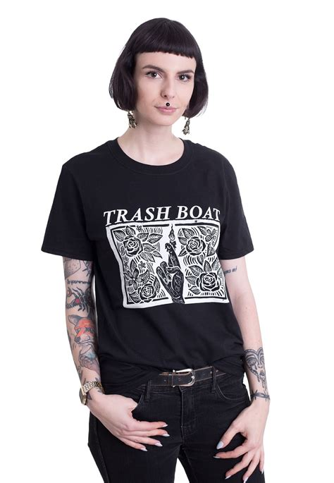 Trash Boat Shirt by Trash Boat Fingers Crossed T Shirt Official