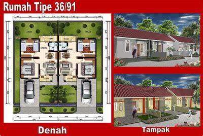 desain rumah type  desain denah rumah terbaru denah