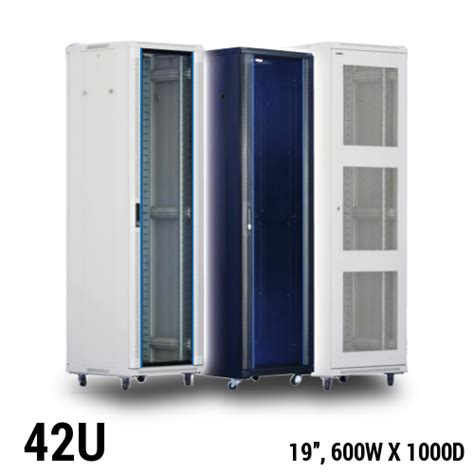 42u server rack toten 42u server rack 19 quot w600 x d1000mm server rack